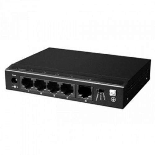 Hikvision SF6P-HM 4-Портовий PoE Комутатор Utepo