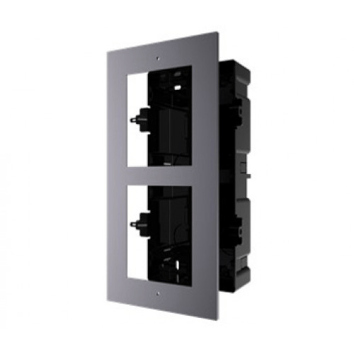 Hikvision DS-KD-ACF2 / PLASTIC Врізна Монтажна Рамка На 2 Модуля