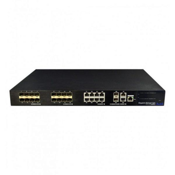 UTP7524GE-16GF8GT 24-Портовий Ethernet/Fiber Гібридний Комутатор