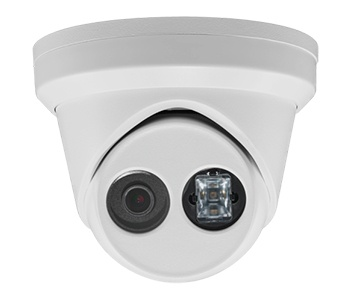 Hikvision DS-2CD2343G0-IU(2.8MM) купольна IP камера