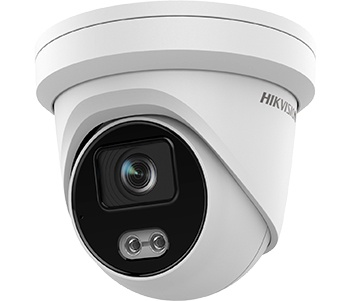 Hikvision DS-2CD2347G2-LU (C) 2.8mm 4 MP ColorVu Turret IP