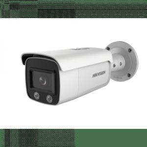 DS-2CD2T47G2-L (C) 4mm 4 MP ColorVu Bullet IP камера