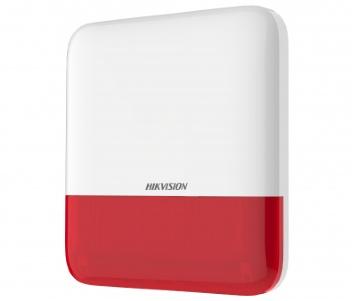 Hikvision DS-PS1-E-WE-Red Бездротова зовнішня сирена (червона)
