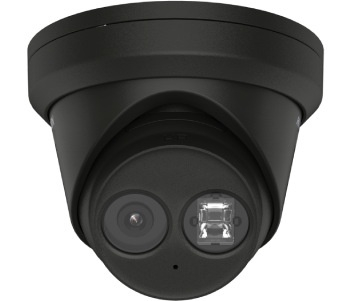 Hikvision DS-2CD2383G2-IU 2.8mm black 8 MP AcuSense Turret IP