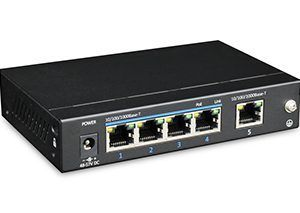UTP3-GSW0401-TP60 5-портовий Gigabit PoE
